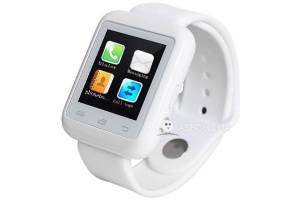 Смарт часы SmartWatch U9 white