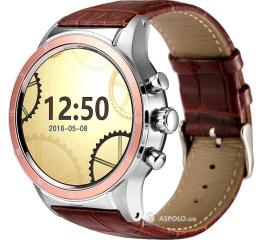 Смарт часы Y3 rose-gold/brown
