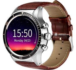Смарт часы Y3 silver/brown