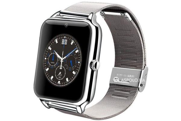 Смарт часы SmartWatch Z50 silver