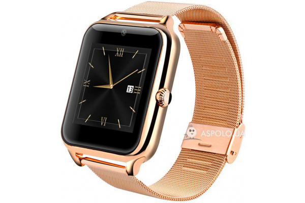 Смарт часы SmartWatch Z50 gold