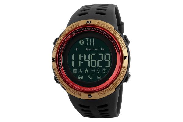 Водонепроницаемые смарт часы Smart Watch 1250 Sport red/gold