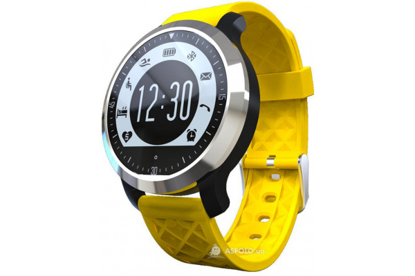 Фитнес браслет SF69 Waterproof Fitness Tracker Black Yellow