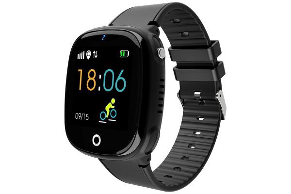 Детские смарт часы с GPS трекером HW11 Black