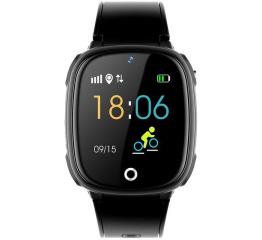 Купить Дитячий смарт-годинник з GPS трекером HW11 Black в Украине
