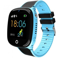 Купить Детские смарт часы с GPS трекером HW11 Blue