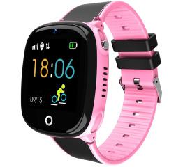 Купить Дитячий смарт-годинник з GPS трекером HW11 Pink