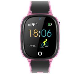 Детские часы-телефон с GPS трекером HW11 Pink