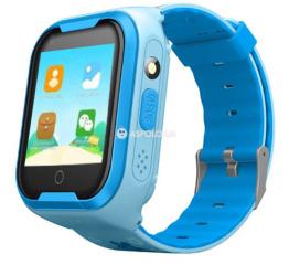 Детские часы-телефон с GPS трекером и HD-камерой Q403 Blue