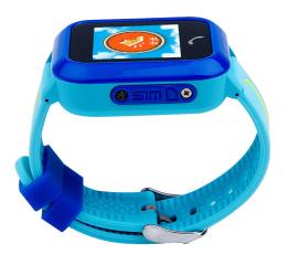 Купить Детские cмарт часы с GPS трекером SmartWatch DF27 Blue в Украине