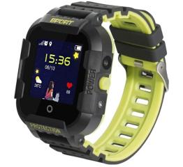 Купить Дитячий смарт-годинник з GPS трекером DF39 4G Black