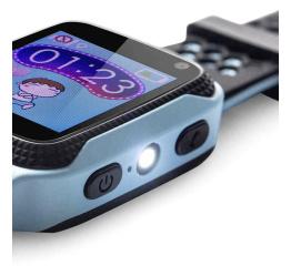 Купить Дитячий смарт-годинник с GPS трекером Q528 blue в Украине