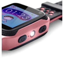 Купить Дитячий смарт-годинник с GPS трекером Q528 pink в Украине