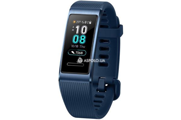 Фитнес-трекер Huawei Band 3 Pro Blue с модулем GPS