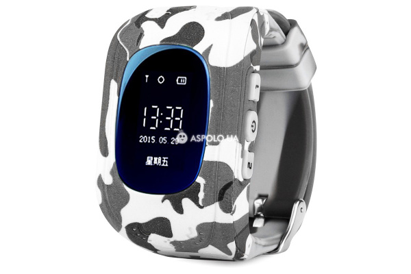Детские cмарт часы с трекером Smart Watch Q50 military