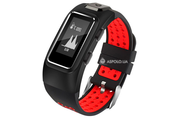Фитнес браслет Smart Band Smartix DB10 GPS red