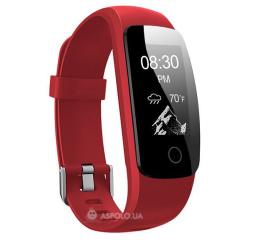 Купить Фітнес-браслет Smart Band ID107 Plus HR Red в Украине