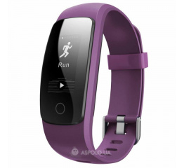 Купить Фітнес-браслет Smart Band ID107 Plus HR Violet