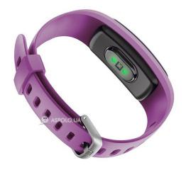 Купить Фитнес браслет Smart Band ID107 Plus HR Violet в Украине