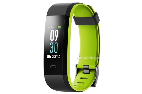 Фитнес браслет Smart Band Smartix ID115HR Plus Color green