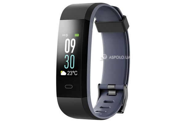 Фитнес браслет Smart Band Smartix ID115HR Plus Color grey
