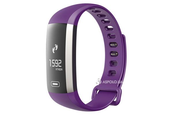 Фитнес браслет Smart Band Smartix M2 Tonometr purple
