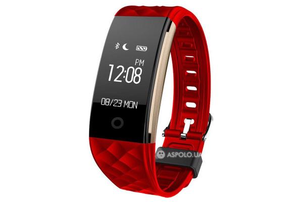 Фитнес браслет Smart Band Smartix S2 red