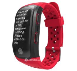 Купить Фітнес-браслет Smart Band S908 GPS Red
