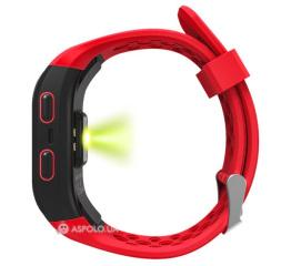 Купить Фітнес-браслет Smart Band S908 GPS Red в Украине