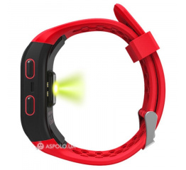 Фитнес браслет Lemfo S908 GPS Red