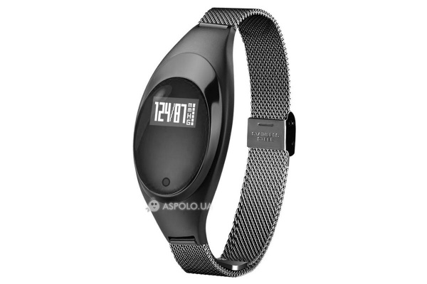 Фитнес браслет Smart Band Smartix Z18 Girl black steel