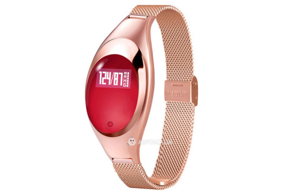 Фитнес браслет Smart Band Smartix Z18 Girl gold steel