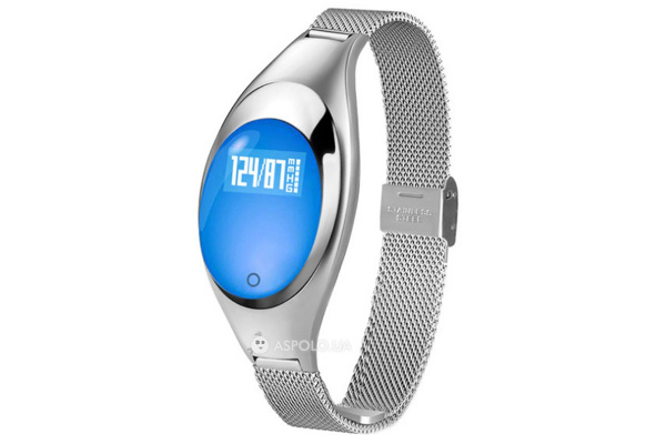 Фитнес браслет Smart Band Smartix Z18 Girl silver steel