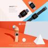 Смарт-часы Amazfit Bip Smartwatch Cinnabar Red (Оригинал)