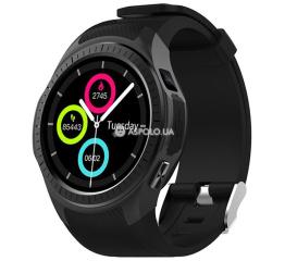 Купить Смарт-годинник Microwear L1 Black