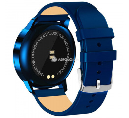 Lemfo Q8 Leather Blue