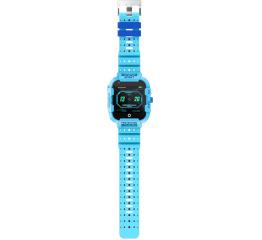 Детские часы-телефон с GPS трекером DF39 4G Blue