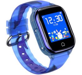 Детские часы-телефон с GPS трекером K21 Blue