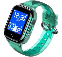 Купить Детские смарт часы с GPS трекером K21 Green