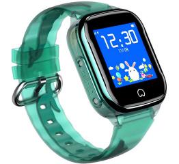 Детские часы-телефон с GPS трекером K21 Green