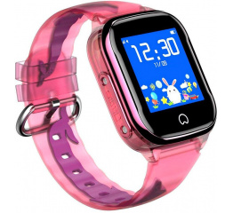 Детские часы-телефон с GPS трекером K21 Pink