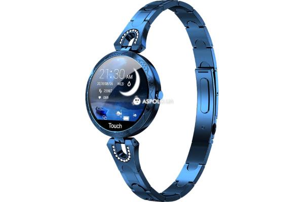 Фитнес браслет AK15 blue
