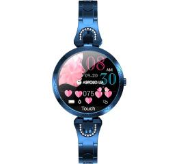 Купить Фитнес браслет UWatch AK15 blue в Украине