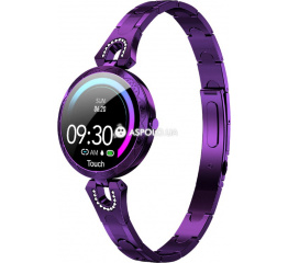 Купить Фітнес-браслет AK15 purple