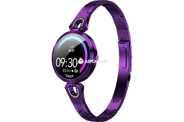Фитнес браслет AK15 purple