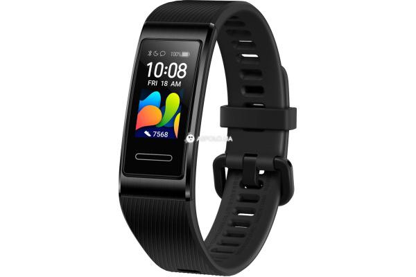 Фитнес браслет Huawei Band 4 Pro Black с модулем GPS black