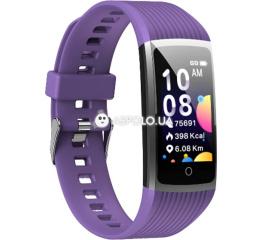 Купить Фитнес браслет UWatch R12 purple в Украине