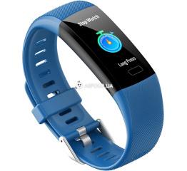 Купить Фитнес браслет UWatch Y10 blue в Украине