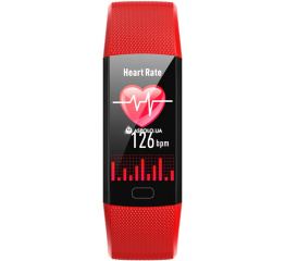 Купить Фітнес-браслет Y10 red в Украине