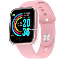 Купить Фітнес-браслет Y68 pink